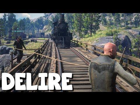 J'AIMERAIS CASSER VOTRE LANTERNE (Vidéo-Délire) Red Dead Redemption 2 Online avec Saw6 #12 thumbnail