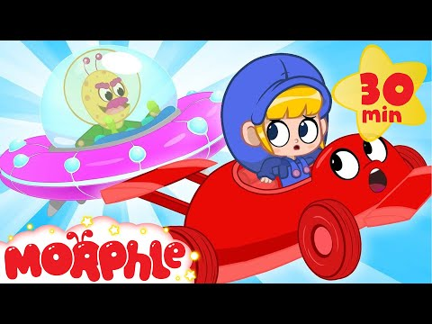 Alien Racecar! - My Magic Pet Morphle | Cartoons For Kids | Morphle TV | BRAND NEW