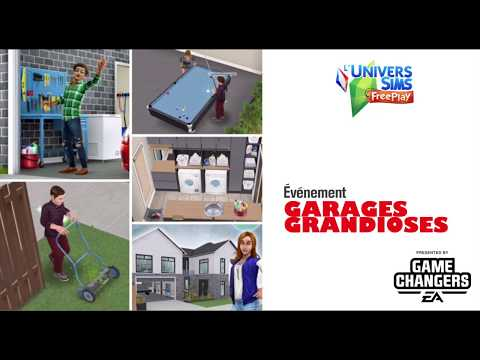 The Sims Freeplay - Garage Grandiose - Accès Anticipé