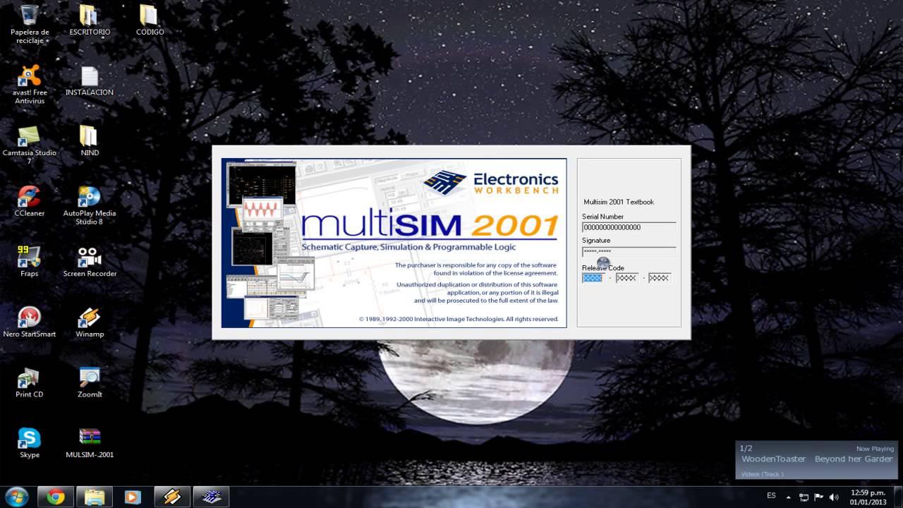 multisim 2001 gratuit