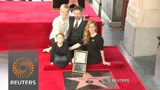 Amy Adams becomes latest star in Hollywood