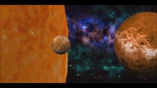 Solar System 4 With Iclone 6 & After Effects