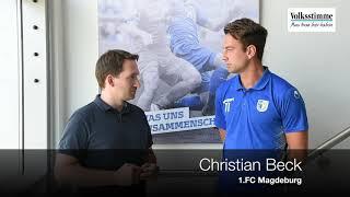 FCM: Christian Beck vor dem Spiel gegen Aue
