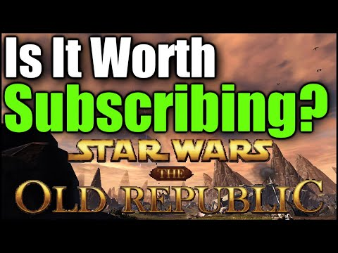 """""""Is It Worth Subscribing?"""" - Star Wars: The Old Republic"""