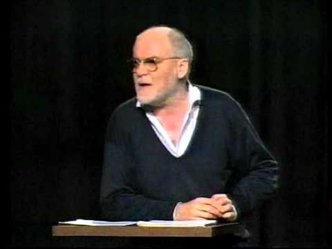 Hans Dieter Hüsch beim Satirefest späte achtziger Jahre. Ein Klassiker in Bestform !