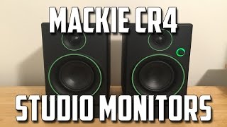 Mackie CR4 Studio Monitors - Unboxing, Setup, and Review!