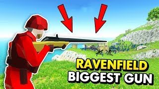 THE BIGGEST GUN IN RAVENFIELD EVER (Ravenfield Funny Gameplay)