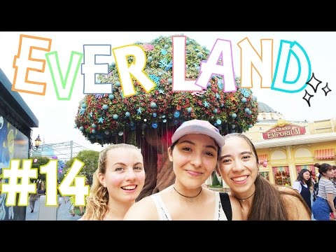 VLOG 14: EVERLAND - IPHONE PERDU, INSOLATION & SENSATIONS FORTES - SEOUL 2016 | HD VFT