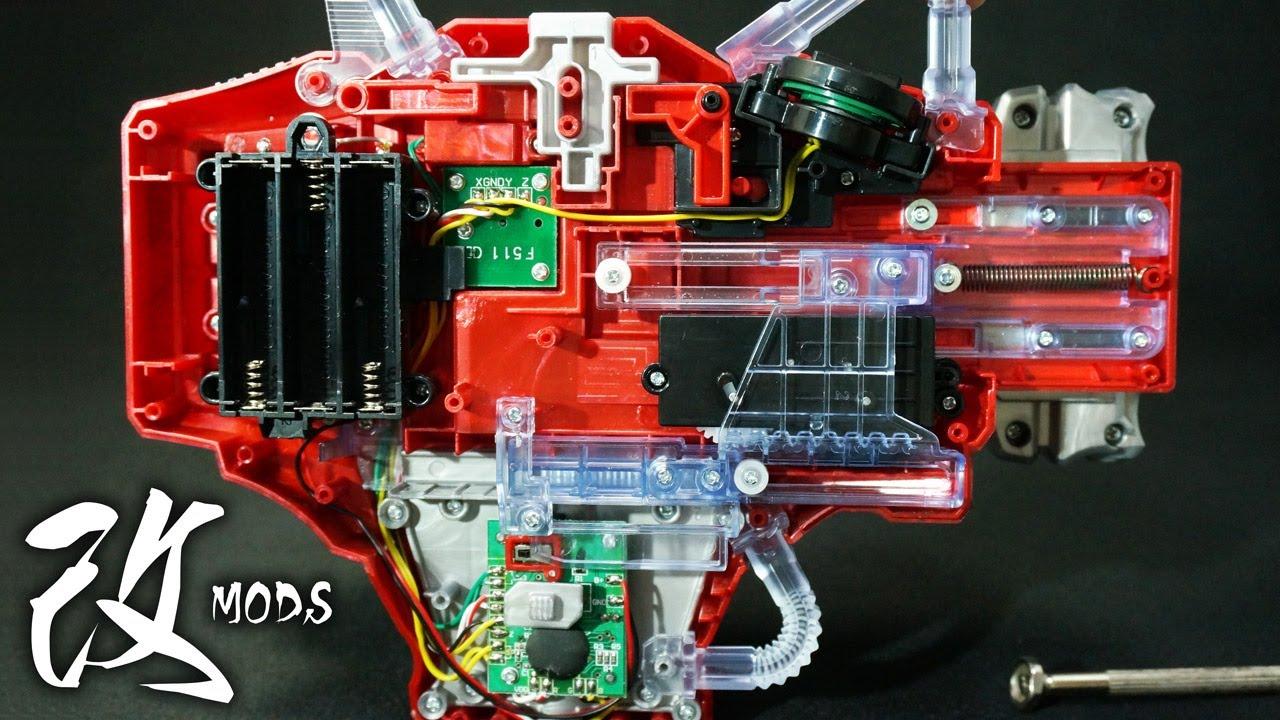 仮面ライダー 鎧武 ガイム 変身ベルト DXゲネシスドライバー 改造してみた Mods Kamen Rider ...