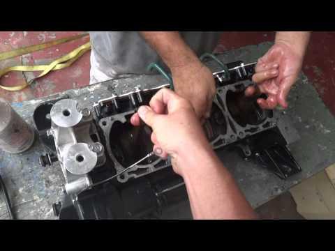Destrancando un motor de Yamaha WaveRunner