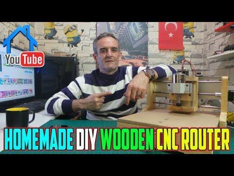DIY Homemade Cheap Wooden Cnc Machine 2019