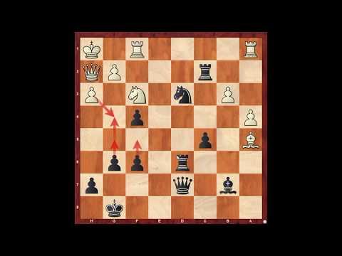 Шахматы. Французская защита черными. Кладезь позиционной игры!