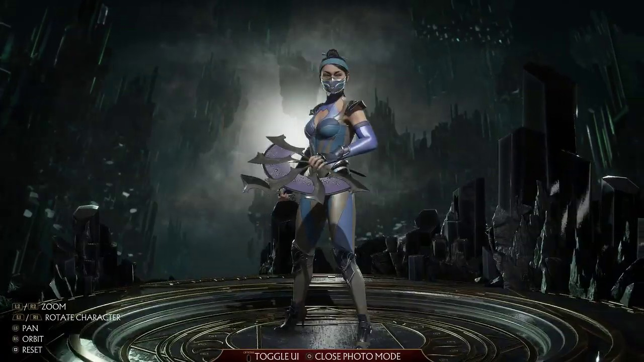 Mortal Kombat 11 Get Outworld Azure Good Kitana Costume Youtube