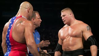 WWE Marquee Matches: Titans Brock Lesnar and Kurt Angle go to war (WWE Network Exclusive)