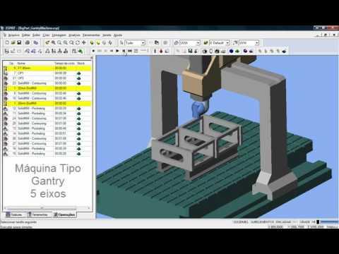 โปรแกรมesprit 2012 Cam Wirecut Edm 4axis 2axis Cimatr