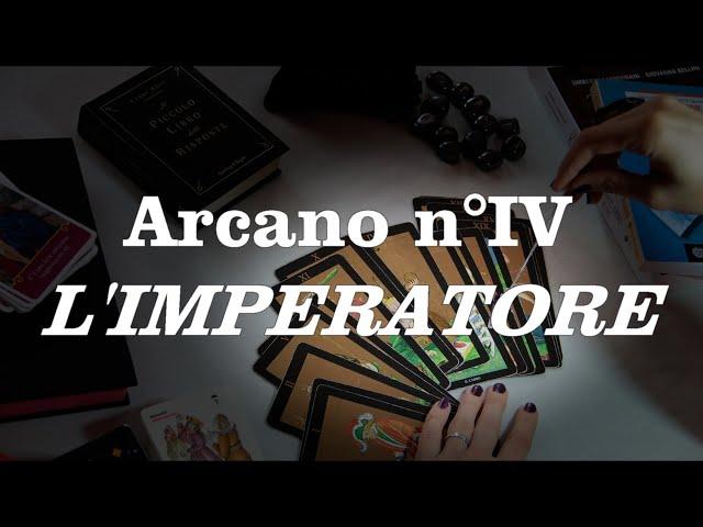 Tutorial sui tarocchi - L'imperatore n°IV