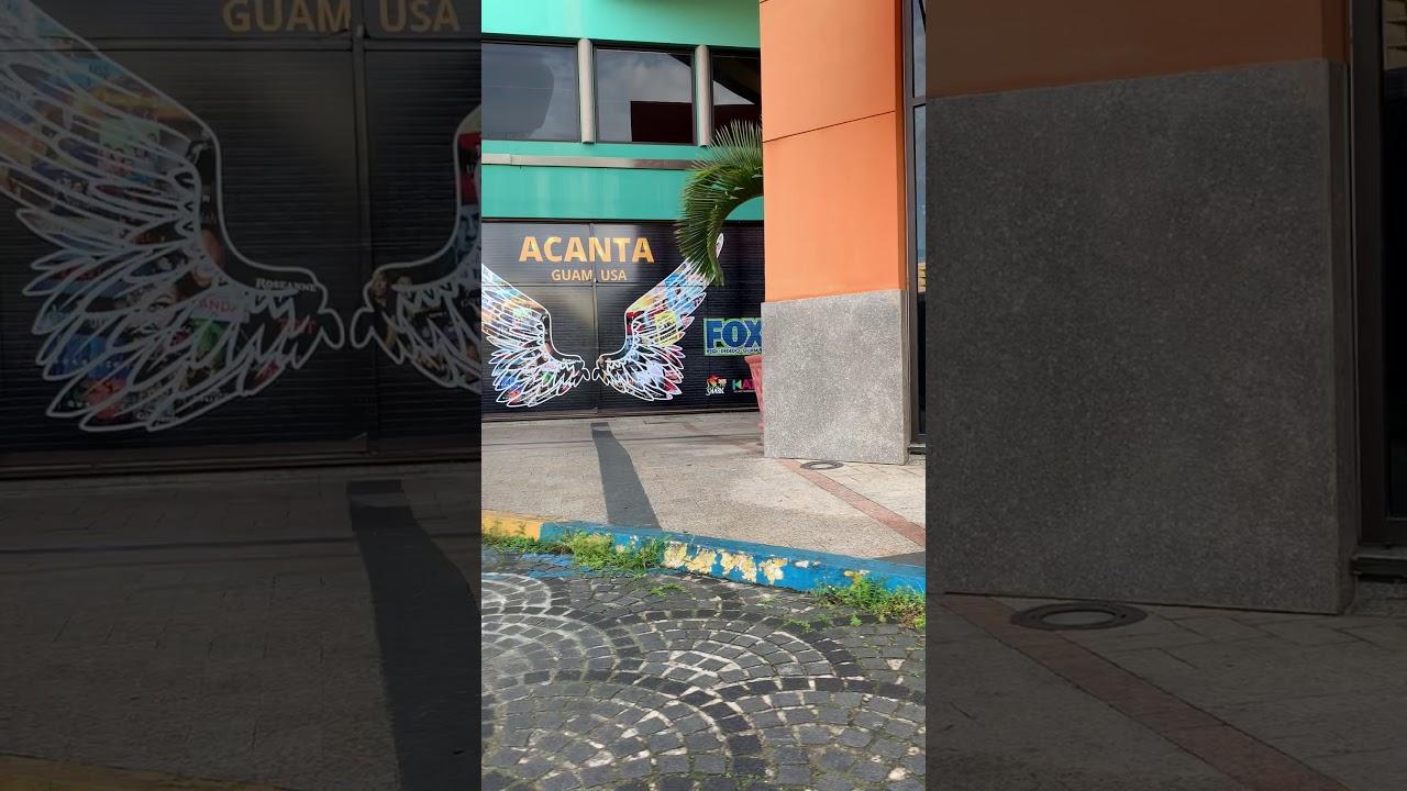 グアム 撮影スポット タモン アカンタモールからアウトリガーホテルまで3分❗️
