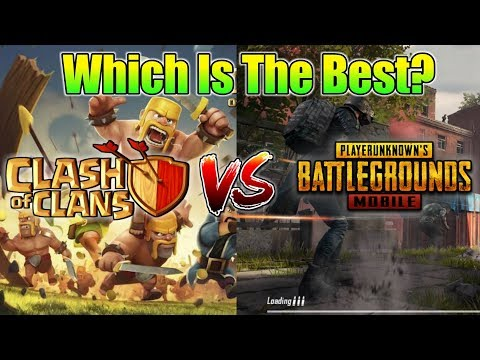 Clash of Clans VS Pubg Mobile ; Which Is The Best Game? | SUNDAY Q&A EP18