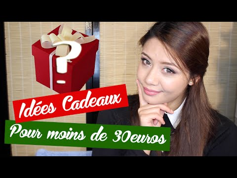 liste id es cadeaux de no l 2015 moins de 30 youtube. Black Bedroom Furniture Sets. Home Design Ideas