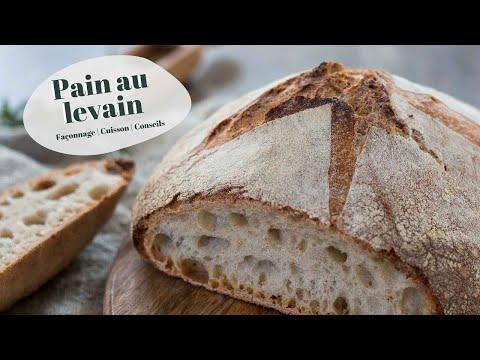 pain-au-levain-:-recette,-préparation,-façonnage-et-cuisson!