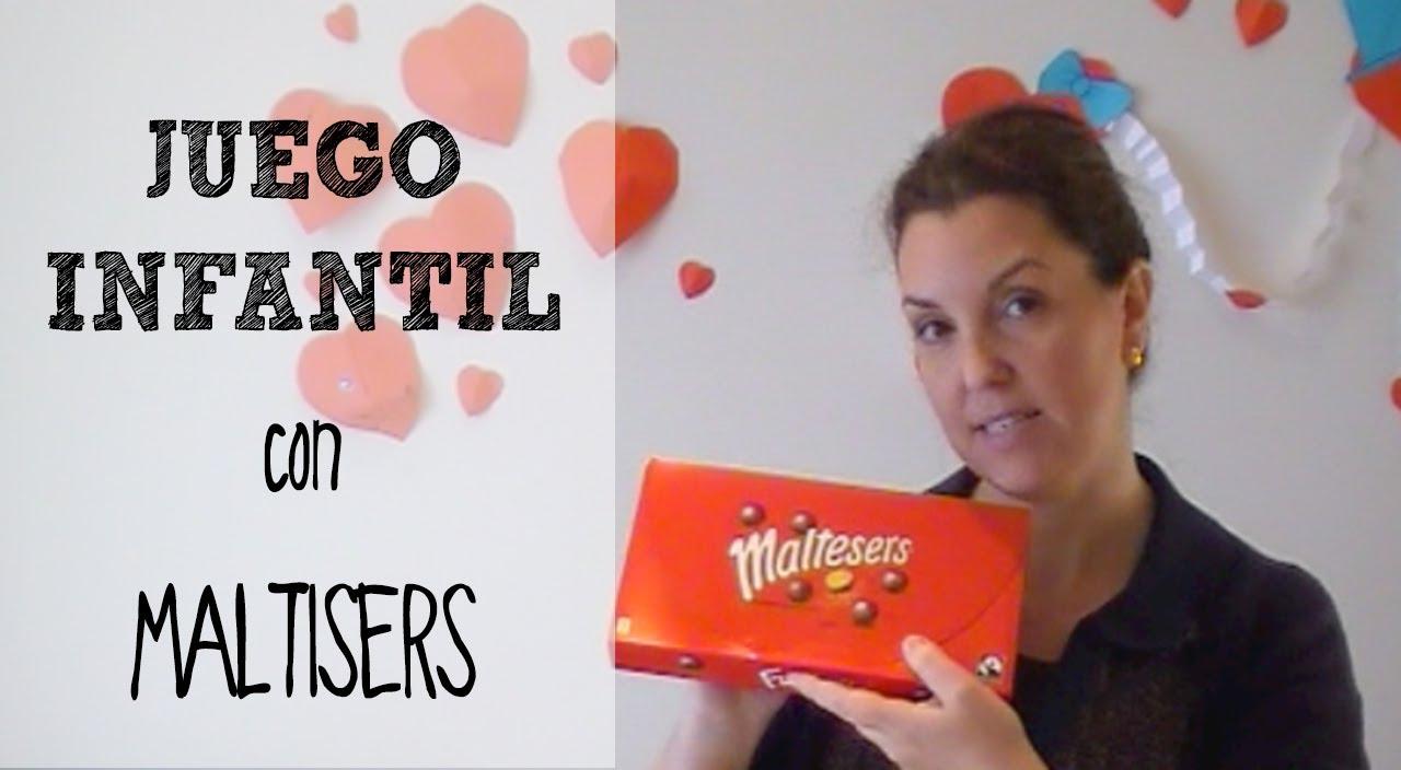 Juegos Caseros Para Ninos Minigolf Con Maltesers Youtube