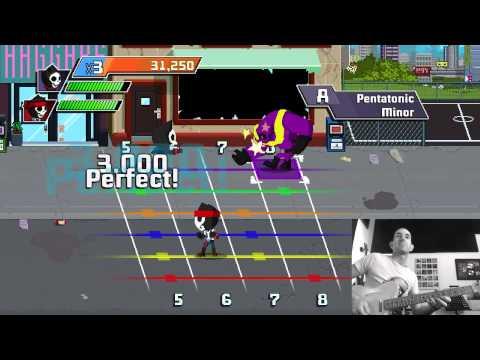 Scale Warriors - Rocksmith 2014 - Guitarcade - Mini Game - Guitar Video Game