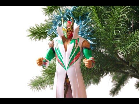 Sin Cara WWE Mattel Elite 32 Figure Unboxing & Review!!