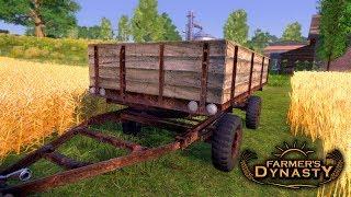 Nowa Przyczepa do Zboża  Farmer's Dynasty