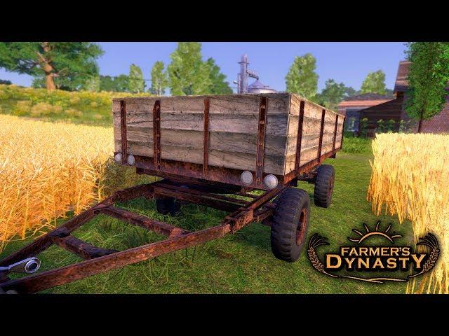 🔥 Nowa Przyczepa do Zboża 👨🏼🌾 Farmer's Dynasty 🚜