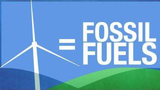 Wind Turbines = Fossil Fuels!