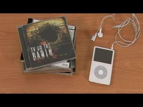 How To Put Music Onto Your Ipod From A CD