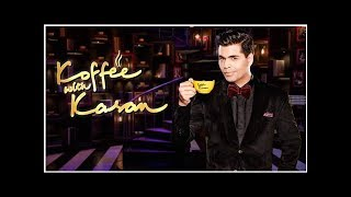 Karan Johar Is Back With Another Season Of Koffee With Karan And We Can't Keep Calm!