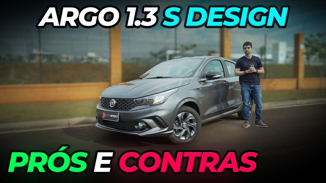 Fiat Argo 1.3 S-Design Vale a Pena ? Falamos os Prós e Contras   Avaliação Top Speed