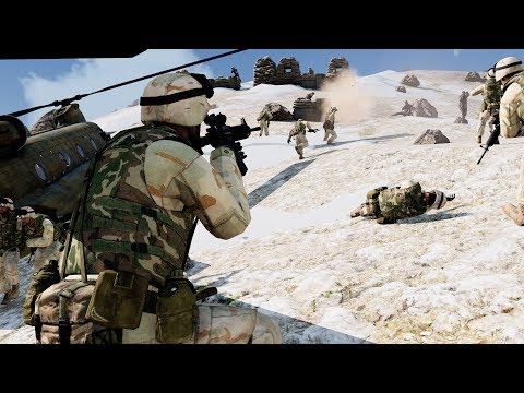 Arma 3 USA vs zombies - Zombie mod ( US army marines )