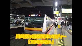 川崎駅5番線発車メロディー 「川崎市歌A」