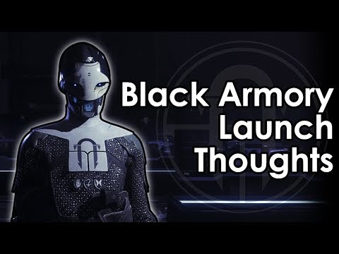 Destiny 2: Datto's Thoughts on Black Armory Launch
