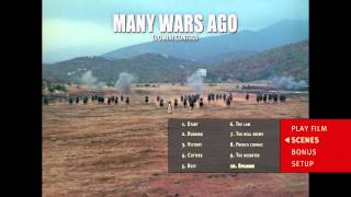 Menu Design Package: MANY WARS AGO (Blu-ray)