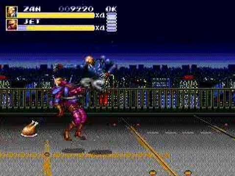 Streets Of Rage 3 Dr. Zan (Bad End) Genesis Playthrough ...  |Streets Of Rage 3 Zan