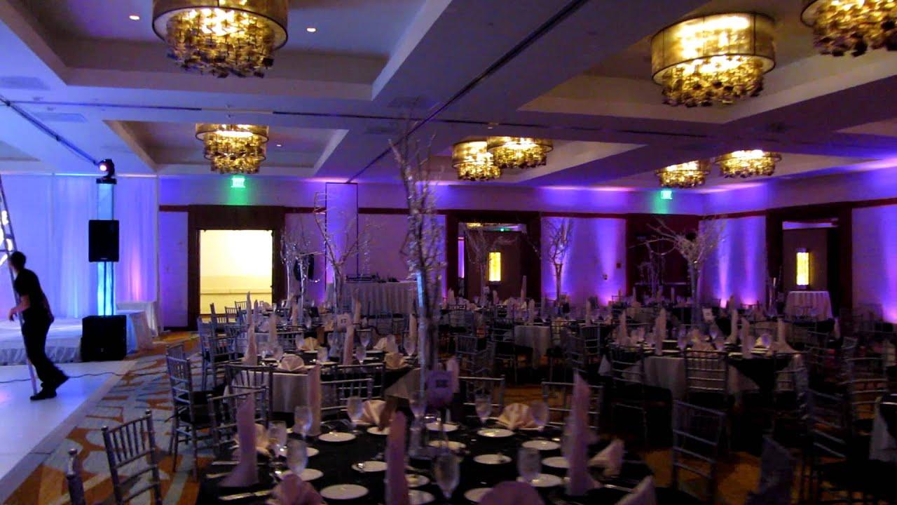 Decor Lighting Event Hyatt Anaheim Hotel Wedding Www Tmmpro