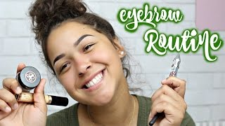 Eyebrow Routine