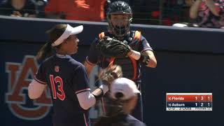 Auburn Softball vs Florida Game 2 Highlights