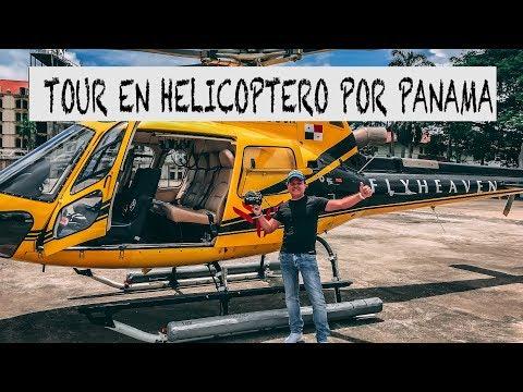 VUELO EN HELICOPTERO POR PANAMA CON LOS PANAS DE FLY HEAVEN