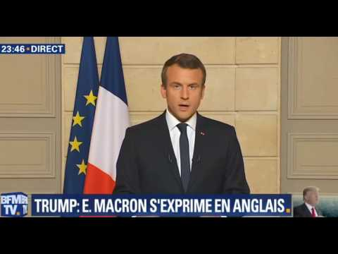 """""""MAKE OUR PLANET GREAT AGAIN!"""" Emmanuel Macron (French President)"""