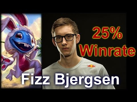 How Bjergsen got a 25% WinRate on Fizz