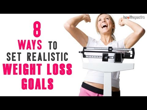 8 Ways To Set Realistic Weight Loss Goals