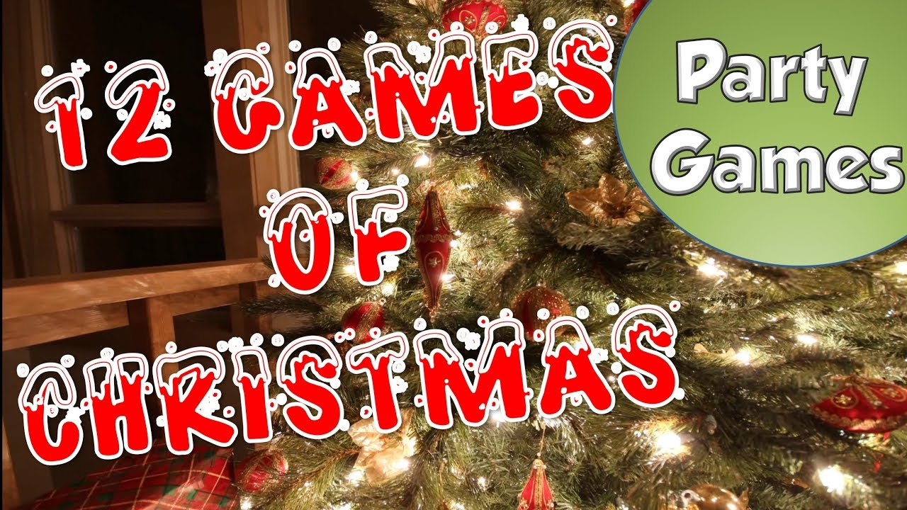 12 Games Of Christmas Party Games Youtube