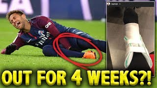 CONFIRMED: Neymar To Miss Real Madrid Game With Ankle Injury!   Euro Round-Up