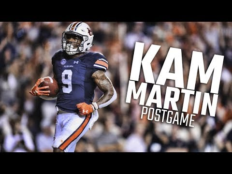 Amid personal loss and devastation from Hurricane Harvey, Auburn's Kam Martin finds reprieve