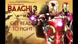GET READY TO FIGHT RELOADED || BAAGHI 3 || IRON MAN || MARVEL UNIVERSE || T-Series ||