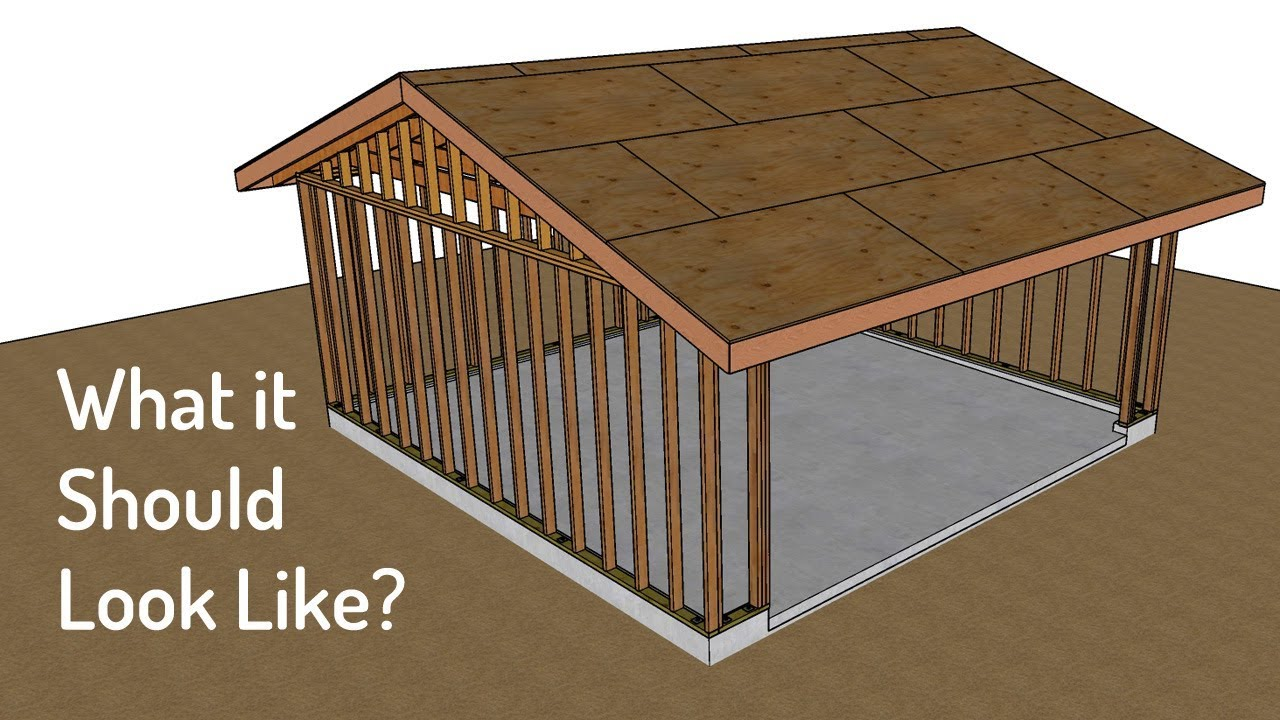 How To Build A Two Car Garage
